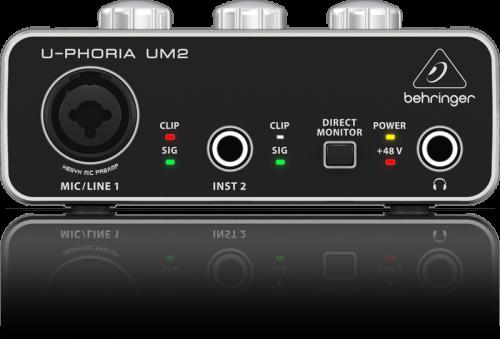 BEHRINGER UM2 2x2 USB Soundcard