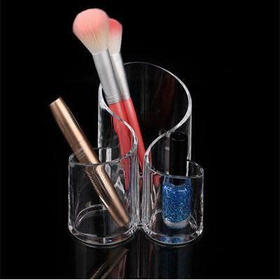 Makeup Brush And Lipstick Organiser