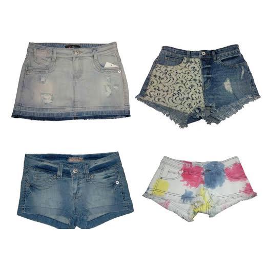 Ladies' Guess & Lizzy Denim Shorts & Skirts