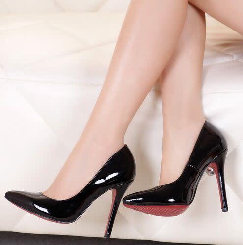 Romanns Ladies Elegant Office/Wedding Stilettos Red Sole