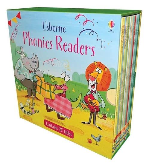 Usborne Phonics Readers 20 Book Box Set