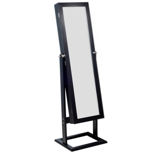 Jewellery Cabinet with Mirror 2 Colours OneDayDeal