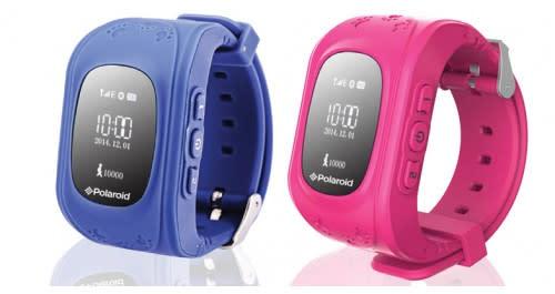 Polaroid Moji Kids GPS Tracker Watch