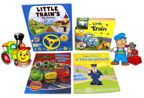 Little Train's Big Journey Book Set
