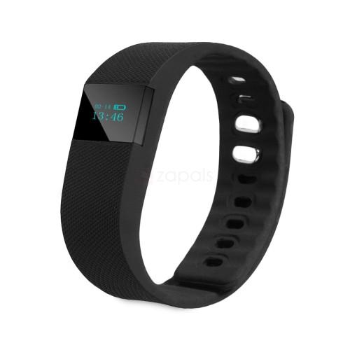TW64 Fitness Tracker(Black) + Free Fidget Spinner