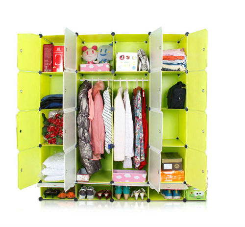 14% Discount Deal In South Africa - Hazlo Large DIY Cubical Wardrobe Closet Cupboard
