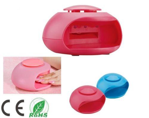LED Light Nail Dryer - Pink/Blue