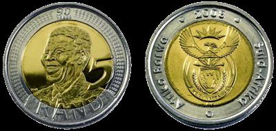 Nelson Mandela 90th Birthday R5 Coin