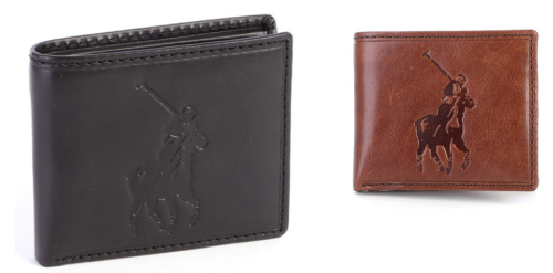 Polo Genuine Leather Mens Wallets 3 Styles