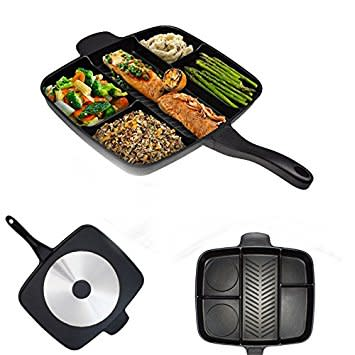 5 in 1 Grill And Fry Pan