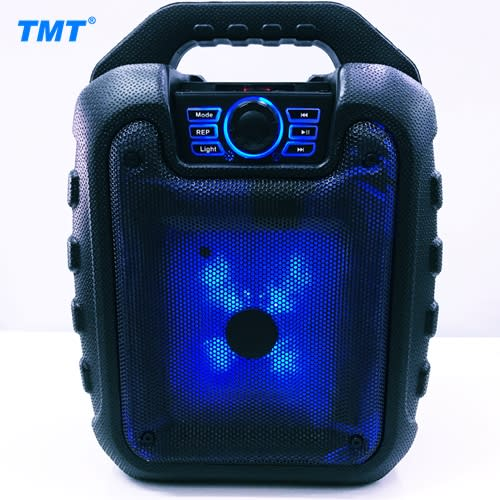 Bluetooth Party Speaker with 5.25inch Woofer & Color Lights