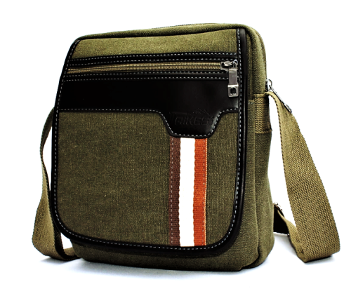 Canvas Messenger / Shoulder Bag