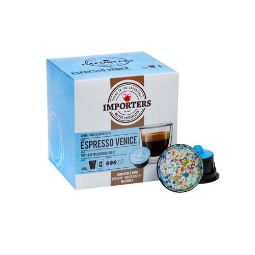 Importers Venice - 16 Nescafe Dolce Gusto Compatible Coffee Capsules