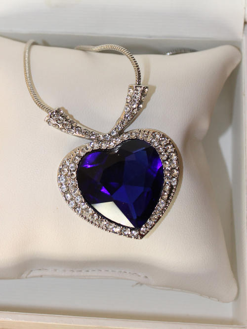 Austrian Sapphire Swarovski Necklace