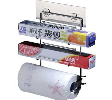 Preservative Film / Paper Towel Storage Shelf