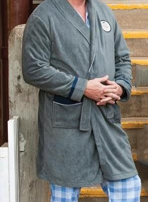 Emporio Marzotto Mens Polar Fleece Gown