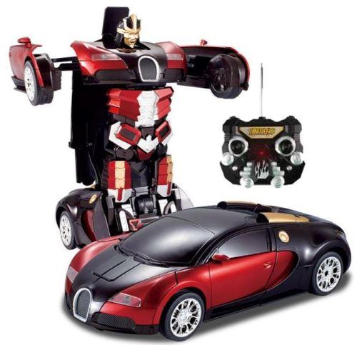 Remote Control Transformer Car
