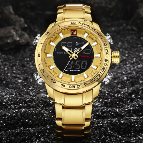 Naviforce Luxury Wristwatch - with FREE Gift - 2 Options