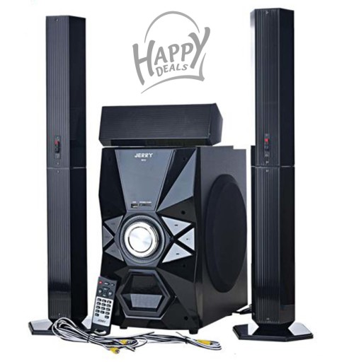 Sub-woofer Music Box Speaker Set 3.1 CH Jerry Power