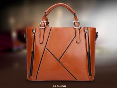 PU Leather Shoulder Messenger Handbag