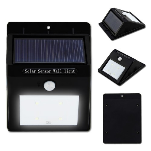 Solar Power Motion Sensor Wall Light
