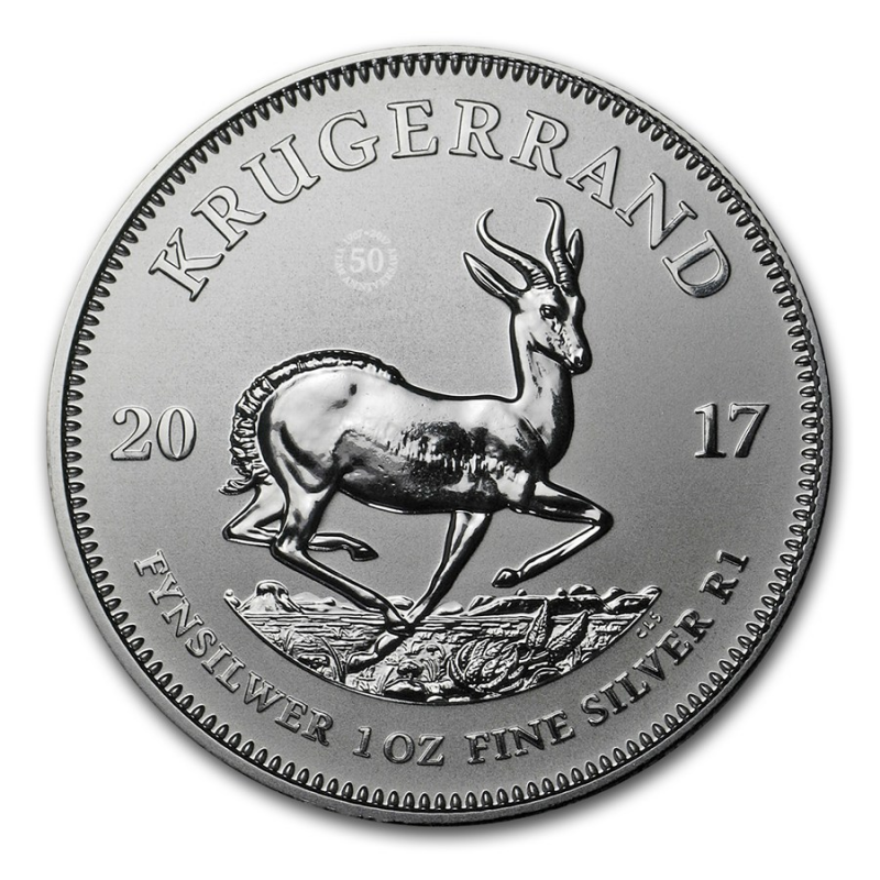 2017 Krugerrand 1oz Fine-Silver Premium Uncirculated