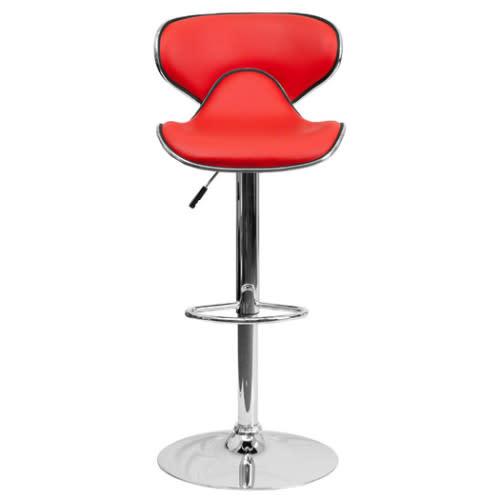 Modern Abs Swivel Dining Chair Bar Stool