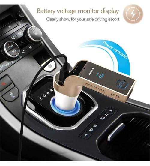 TG101 Wireless Car Bluetooth USB Adapter