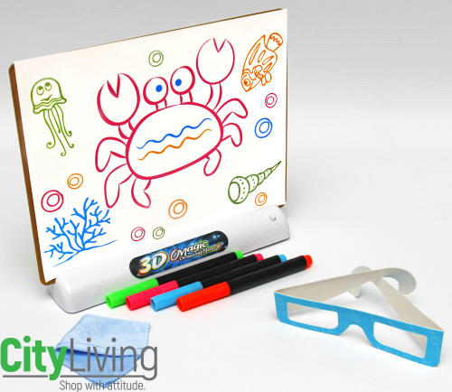 3D Drawing Board + 3D Glasses