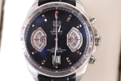 Tag Heuer Grand Carrera Calibre 17 Chrono Watch