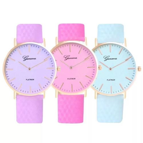 Geneva Color Changing Ladies Watch