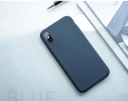 iPhone X liquid Silicone Phone Case - Sanze Series
