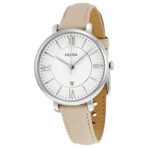 Fossil Ladies Jacqueline Leather Watch ES3793