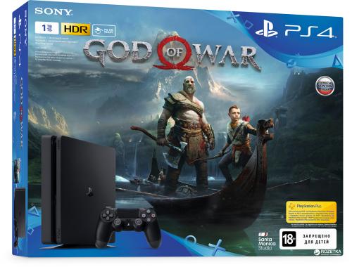 PS4 Slim (1TB) God of War Bundle
