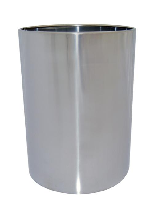Classic Round Stainless Steel Bin