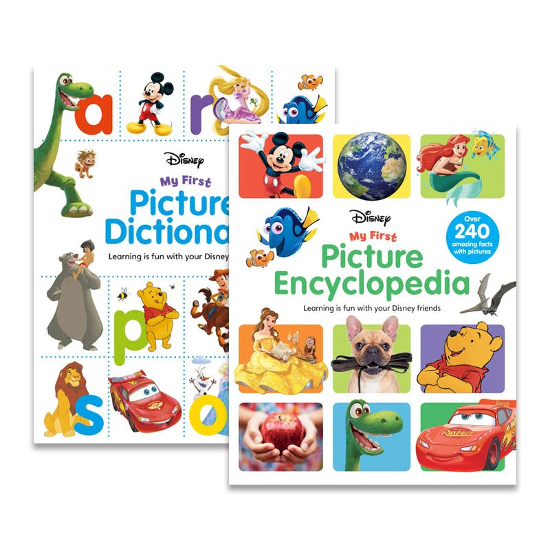 Disney: My First Picture Dictionary & Encyclopedia