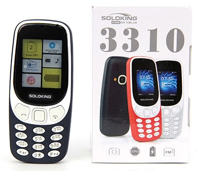 Soloking 3310 Phone Blue