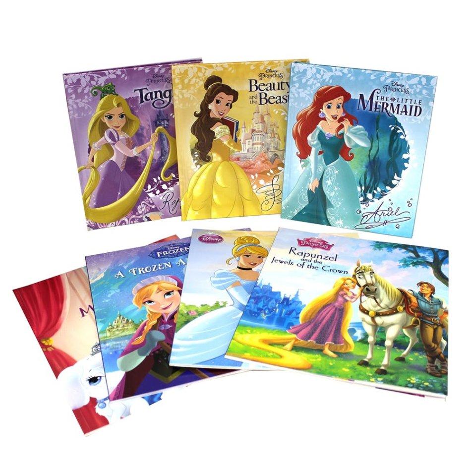 Disney Princesses 7 Book Collection