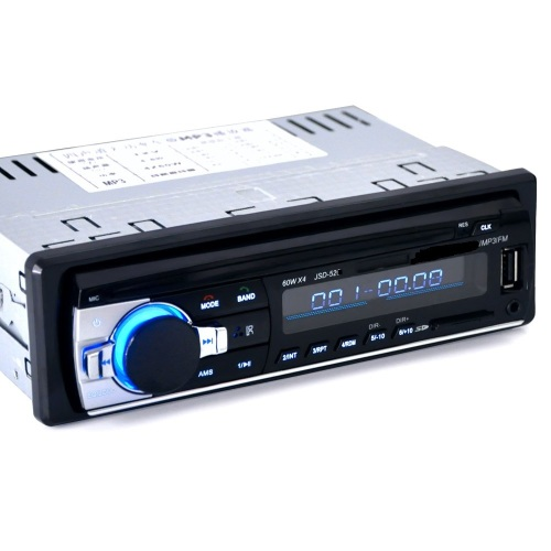 Bluetooth Car FM Radio with MP3, USB, SD Card Slot and Remote Control
