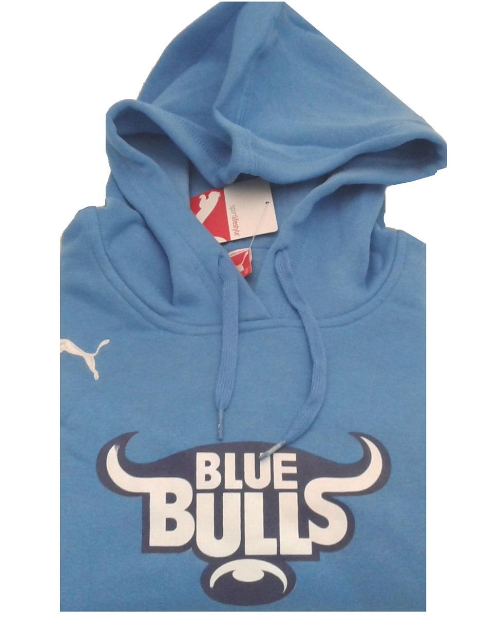 Puma Ladies Blue Bulls Hoodie