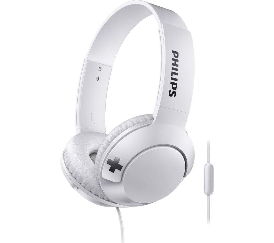 Philips Bass+ Headphone White