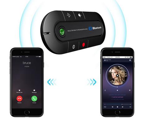Wireless Bluetooth Handsfree Car Kit