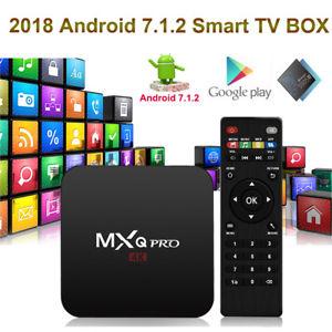 MX-Q PRO 4K Smart Android TV Box (Netflix, WIFI, KODI)
