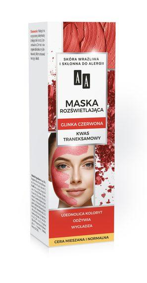 AA Carbon and Red Clay Illuminating Mask
