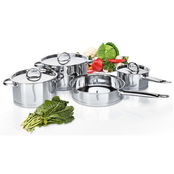 Delica 7 Piece Stainless Steel Cookware Set