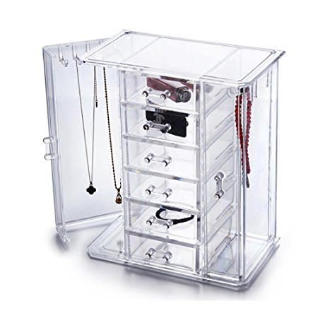 Jewelry Cabinet Display Organiser