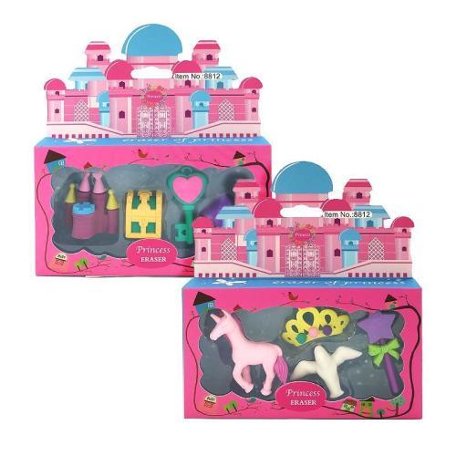 Princess Erasers 2 Sets