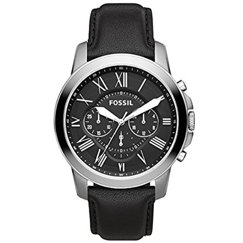 Fossil Men's Grant Chronograph Watch 4 Options