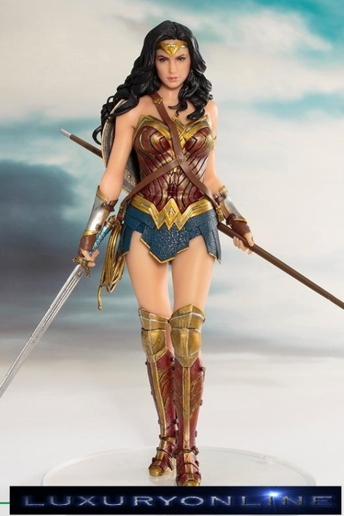 JUSTICE LEAGUE 1/10 Scale WONDER WOMAN ArtFX Collectable Statue