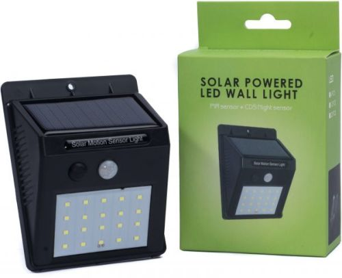 Solar Powered LED Sensor Wall Light